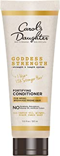 product image for Carol's Daughter Goddess Strength Fortifying Paraben Free Conditioner with Castor Oil, Black Seed Oil and Ginger, For Weak, Breakage Prone Hair, 11 fl oz