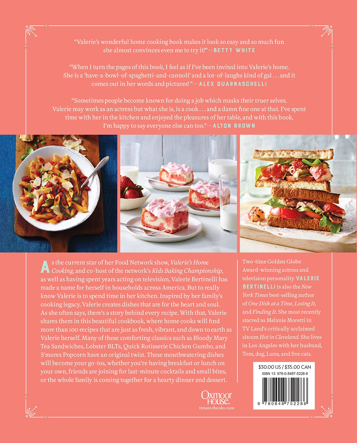 Valeries home cooking more than 100 delicious recipes to share valeries home cooking more than 100 delicious recipes to share with friends and family valerie bertinelli 9780848752286 amazon books forumfinder Choice Image