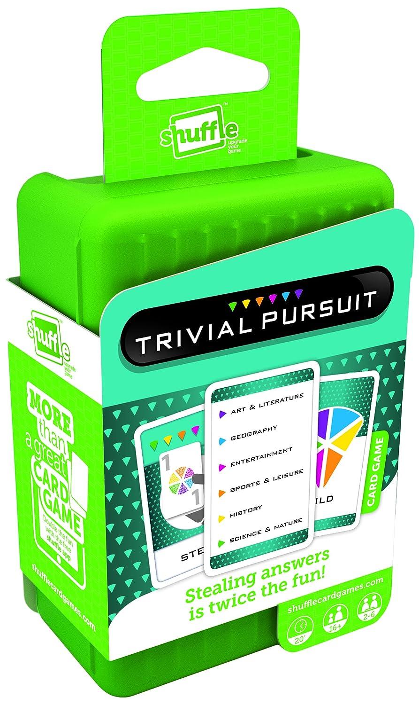 Trivial Pursuit - Juego de cartas, para 2 o más jugadores ...