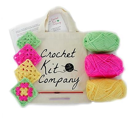 Kids Children Learners Starter Beginners Crochet Kit Learn To