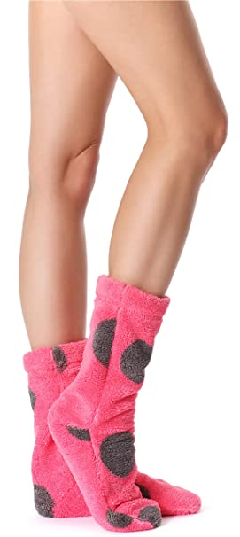 L&L Calcetines Zapatillas Pantuflas Mujer 2015 (Amaranto/Onyx, ...