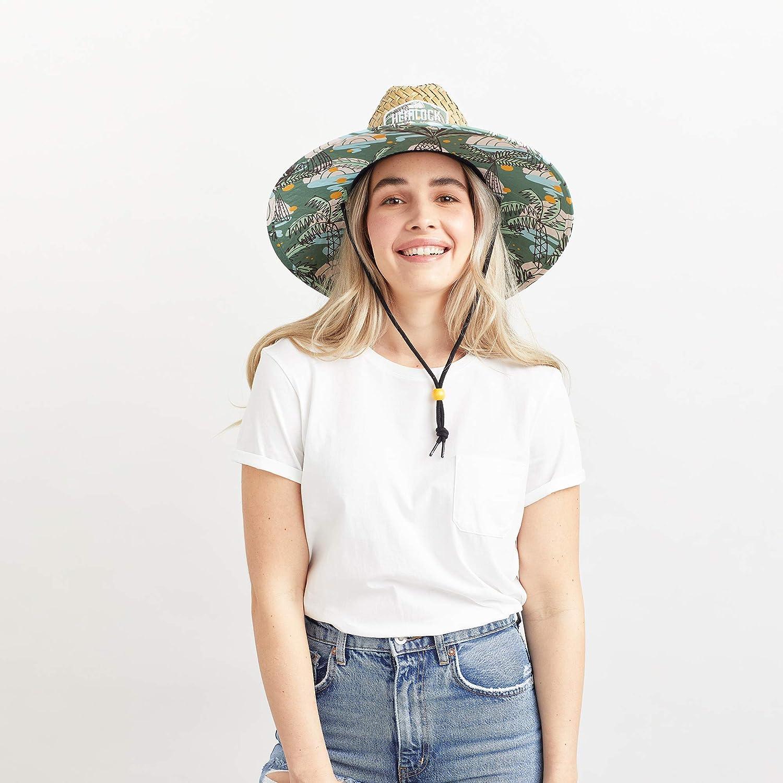 Hemlock Hat Co Mens Straw Hat