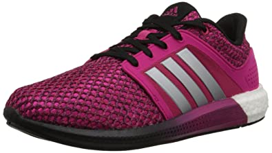 Adidas Performance Womens Solar Boost Running Shoe Pink Silver White