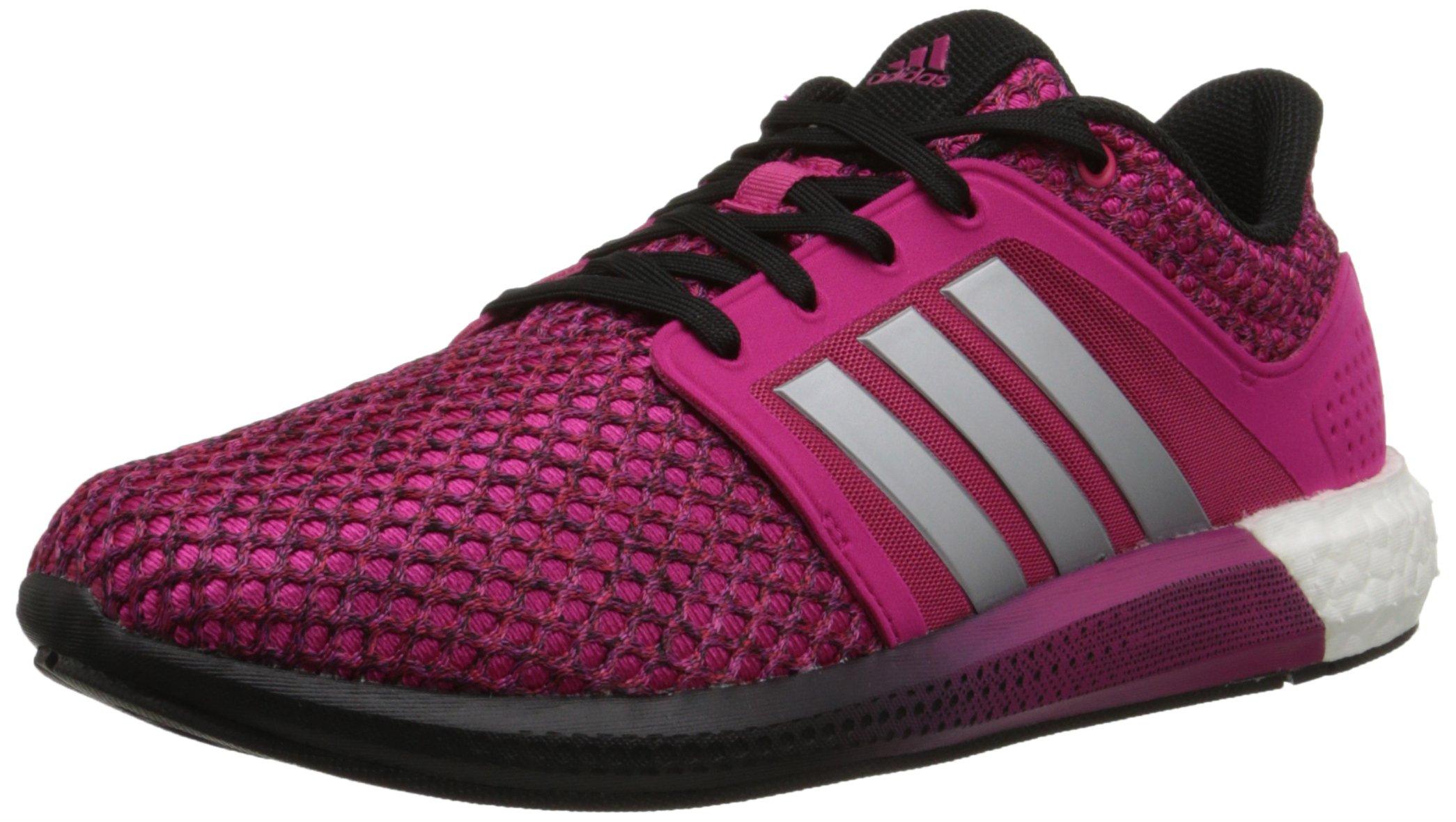 new product 56069 50268 Galleon - Adidas Performance Womens Solar Boost Running Shoe,  PinkSilverWhite, 9 M US