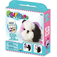"""The Orb Factory Fluffables Plum Arts and Crafts (16 Piece), Purple/White/Black, 5.75"""" x 2"""" x 6"""""""