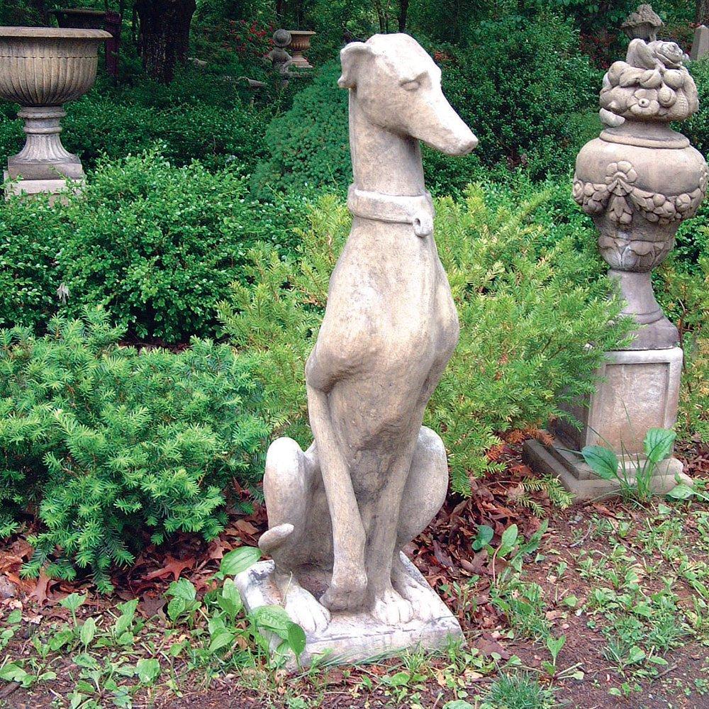 Large Garden Statues   Greyhound Dog Sculpture