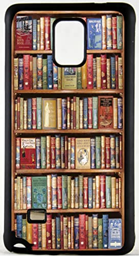 Bookshelf Books Custom Rubber Phone Case Cover Is Compatible With Samsung Galaxy S3 S4 S5 S6