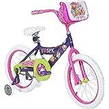 "Shopkins Girls Dynacraft Bike, Purple/Pink/Green/White, 18"""