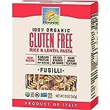 Bionaturae Fusilli Gluten-Free Pasta   Rice and Lentil Fusilli Pasta   Non-GMO   Lower Carb   Kosher   USDA Certified…