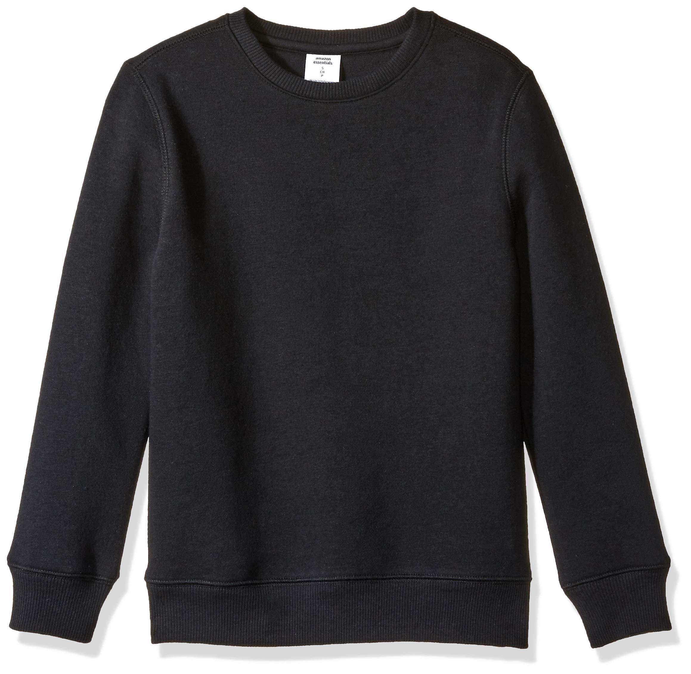 Amazon Essentials Boy's Big Crew Neck Sweatshirt