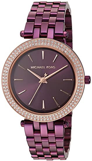 21160d364e53 Michael Kors Women s  Mini Darci  Quartz Stainless Steel Casual Watch