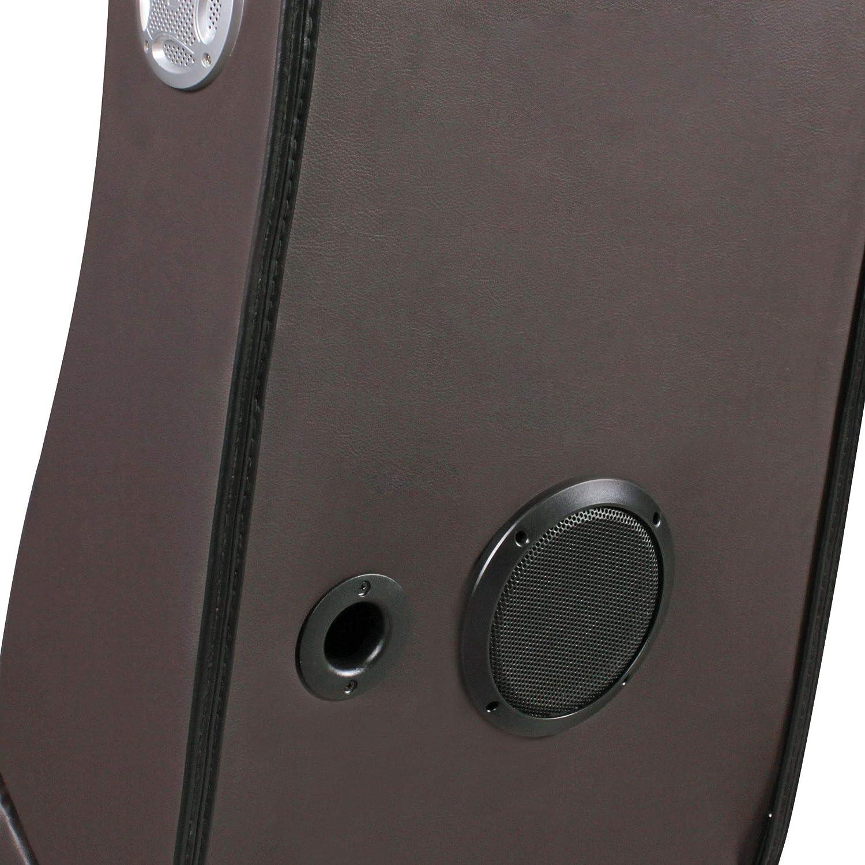 Wohnling Soundchair LevelOne Schwarz Weiß mit Blautooth Musiksessel mit mit mit eingebauten Lautsprechern dadcb1