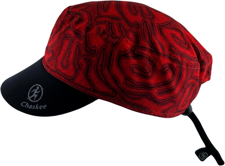 con protezione dai raggi ultravioletti 80 berretto reversibile con disegno labirintico e visiera in neoprene Chaskee