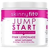 SkinnyFit Jump Start Pre Workout Supplement for Women 30 Servings - Creatine Free Powdered Mix Drink to Help Increase…
