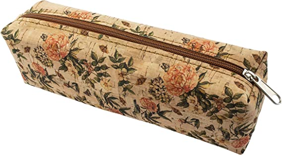 Estuche lapicero de corcho natural fabricado a mano en España (ECORC-01): Amazon.es: Oficina y papelería