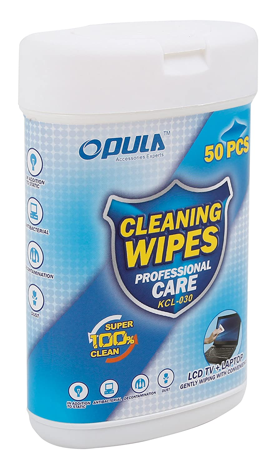 50 Anti-Static LCD Cleaning Cloths Suitable for use with The Lenovo LifeTab E10511 (MD 60637) - by DURAGADGET 5057697465877