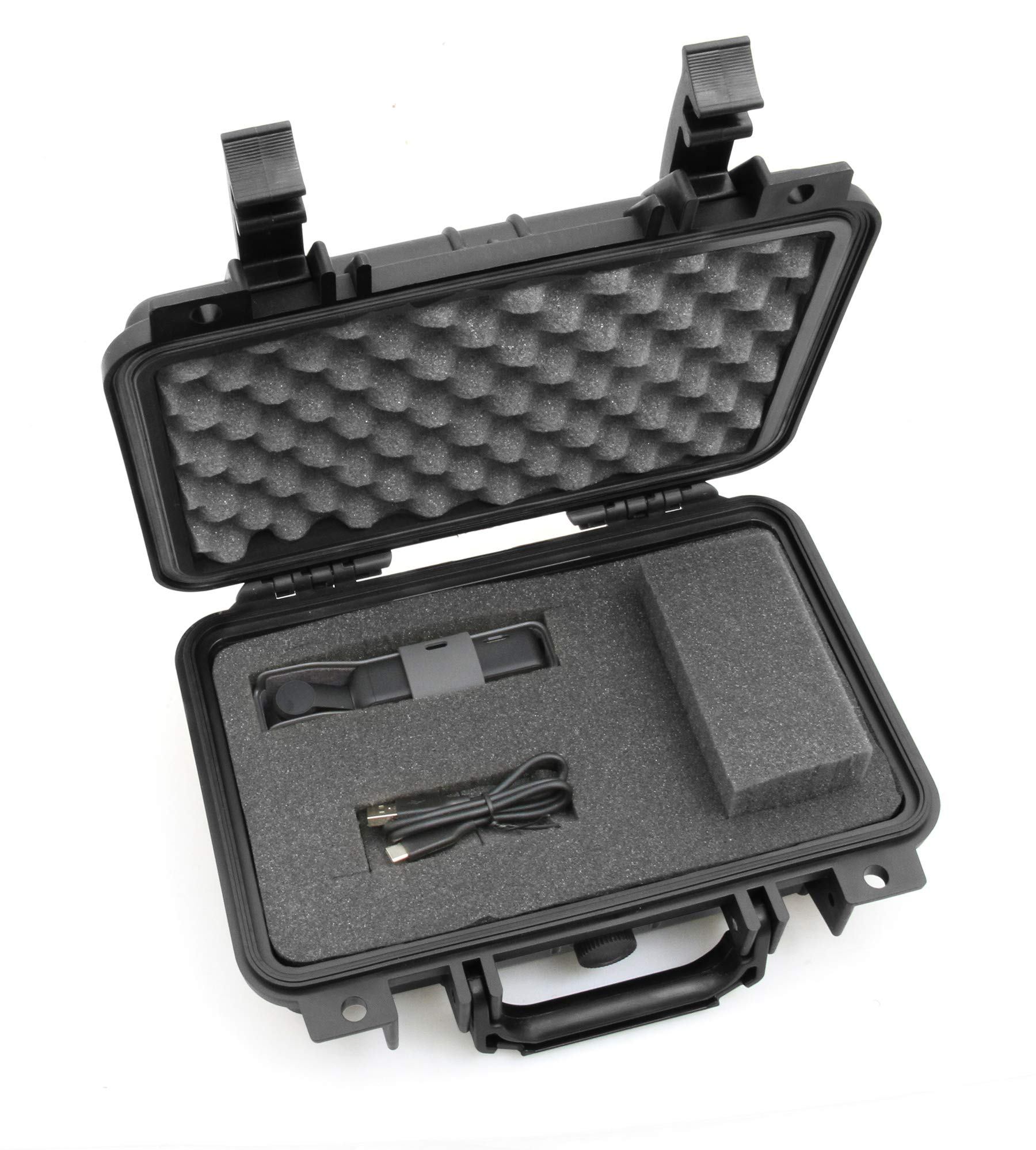 CASEMATIX Rugged Waterproof Case Compatible with DJI Osmo Pocket Gimbal and Accessories - Customizable Foam by CASEMATIX