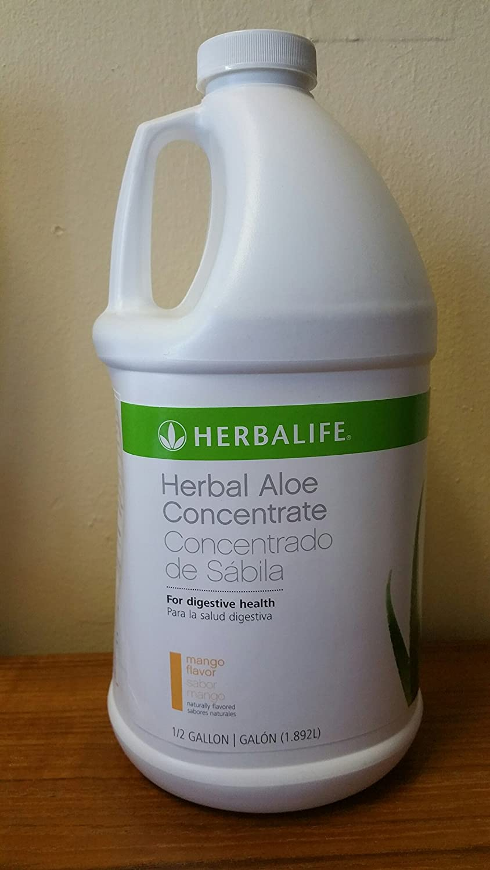 Herbalife Herbal Aloe Concentrate Mango, Half Gallon