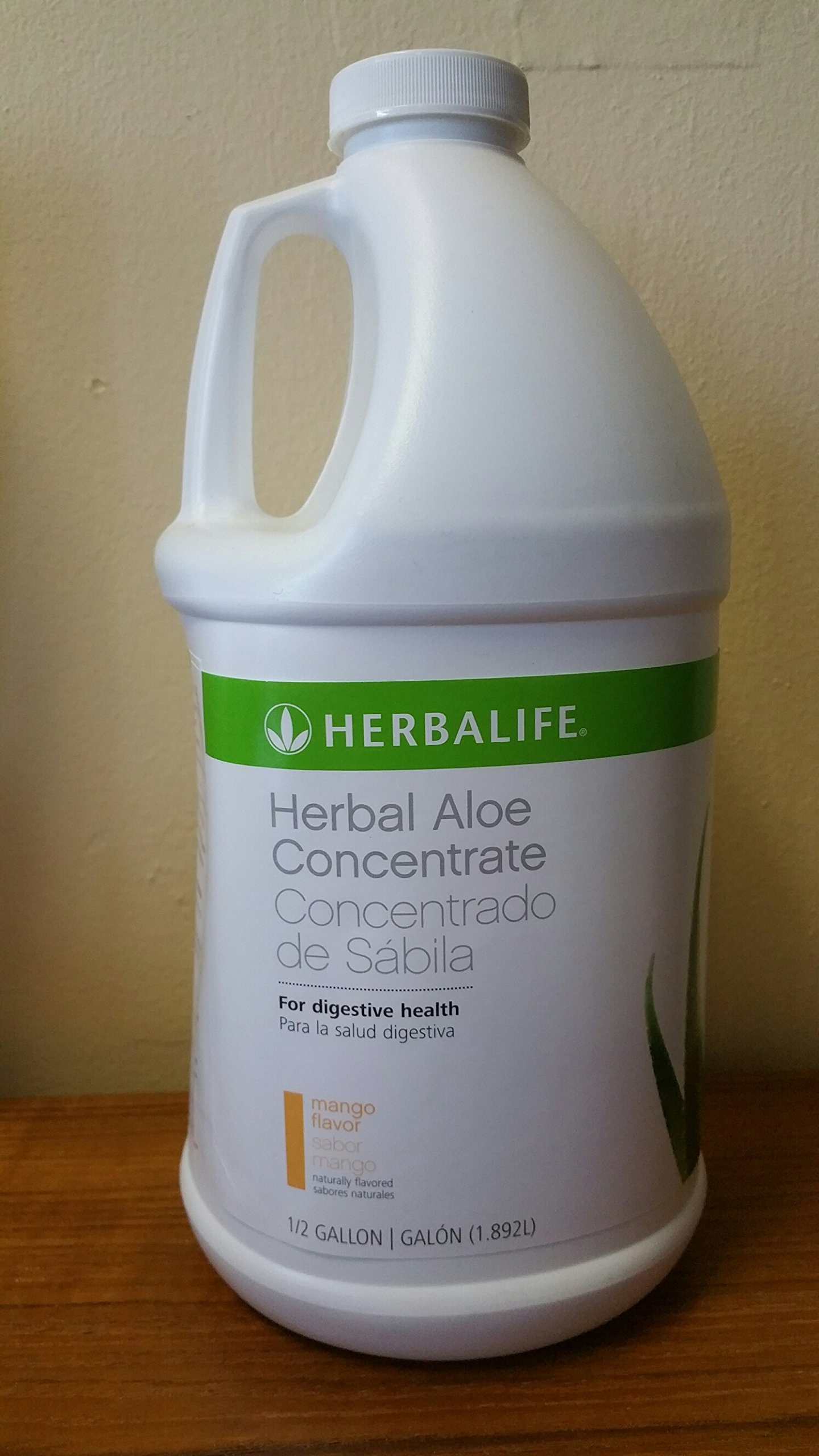 Herbalife Herbal Aloe Concentrate - Mango, Half Gallon