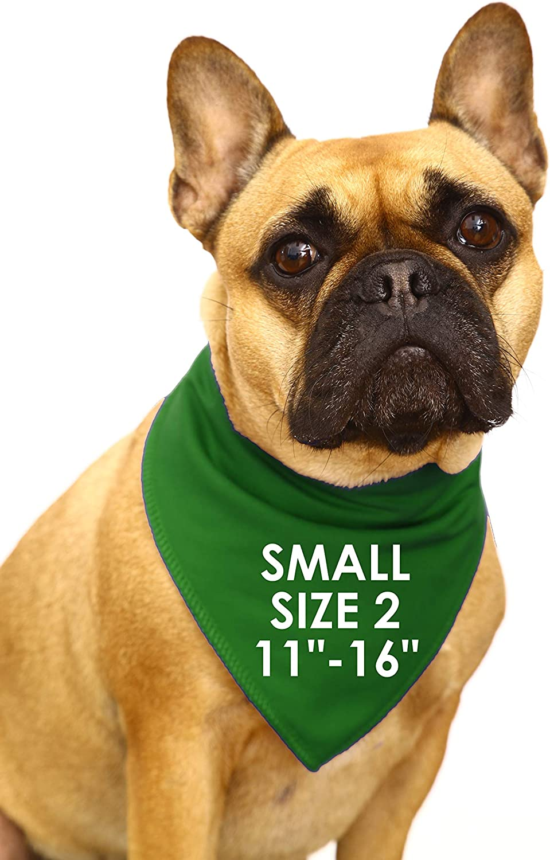Medium Dogs Labrador /& Staffies Spoilt Rotten Pets S3 Green Gaelic Happy St Patricks Day Written In Irish Dog Scarf Bandana For Dogs