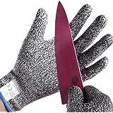 防刃手袋 耐切創手袋 軍手 作業 手袋 作業用手袋 切れない手袋 (Large)