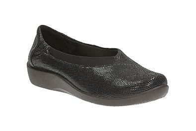 Clarks Sillian Jetay - Black Combi (Textile) Womens Shoes