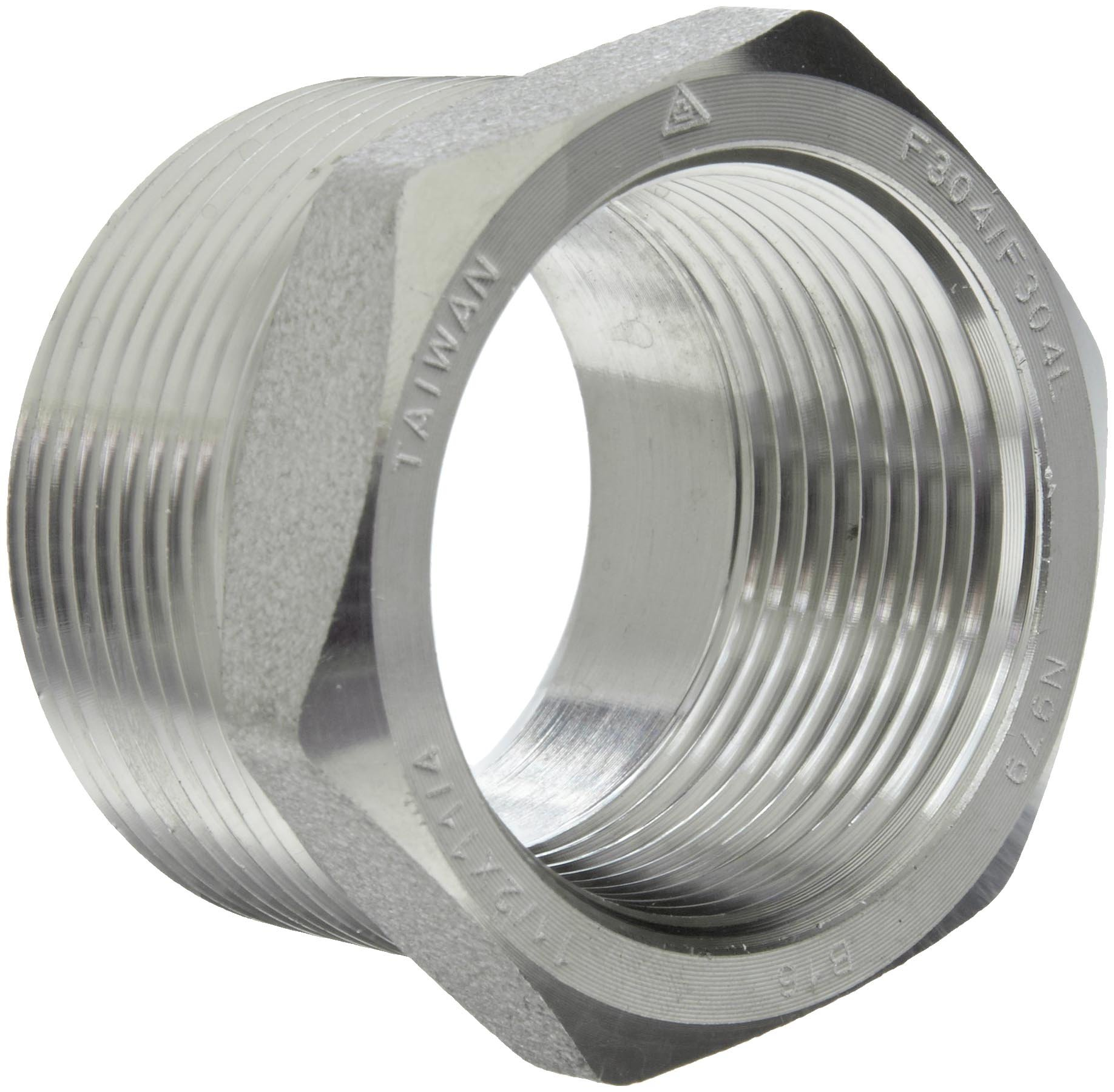 L forged stainless steel pipe fitting bushing class