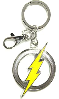 Amazon.com: Funko POP Keychain: The Flash - The Flash Action ...