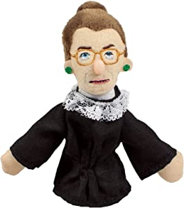 Ruth Bader Ginsburg Finger Puppet and Refrigerator Magnet - For Kids and Adults