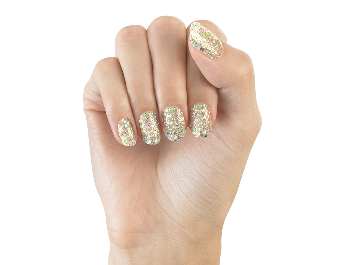 Amazon.com : Elegant Touch Envy Bling Nail Wraps, Candy Sprinkles ...