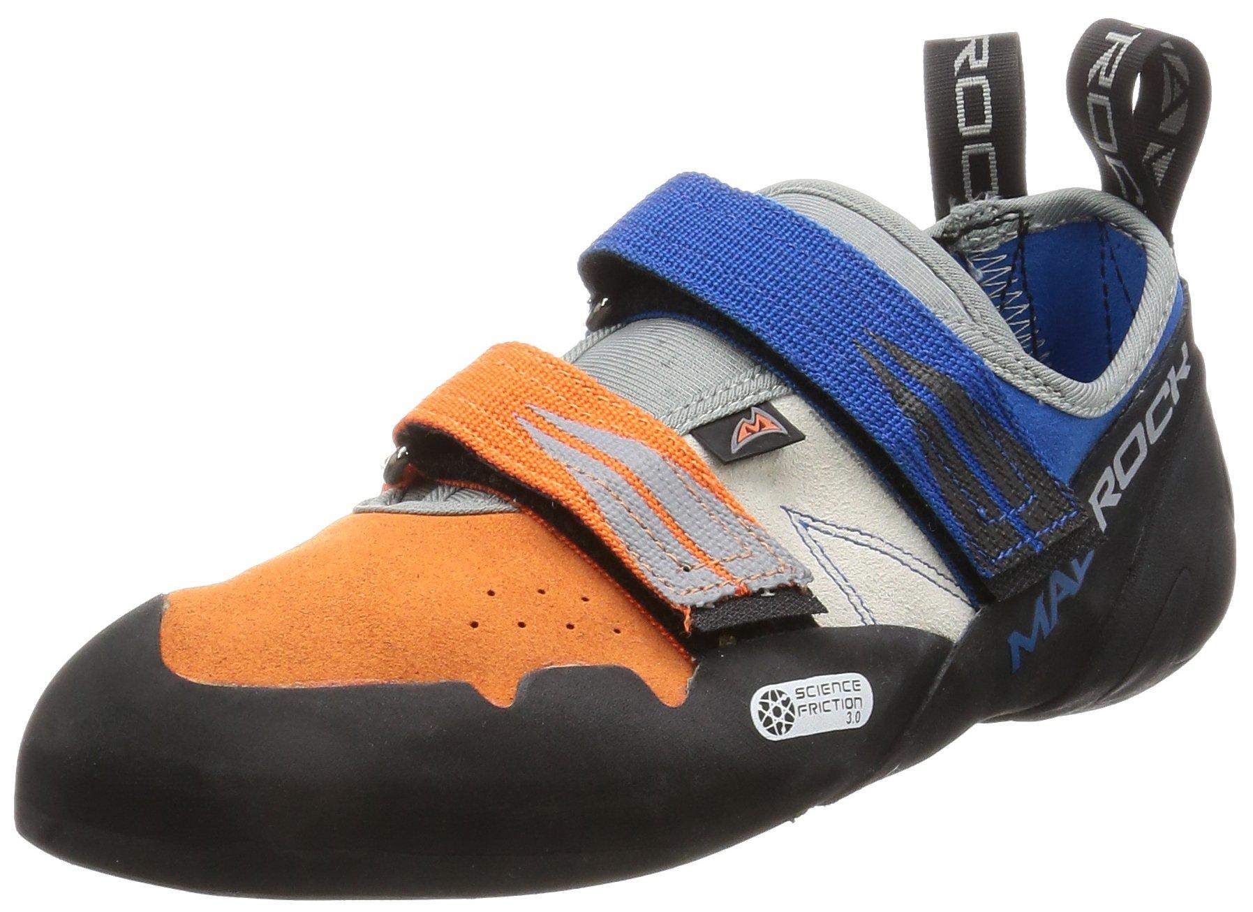 Mad Rock Agama Climbing Shoe - Blue/Orange 6.5 by Mad Rock