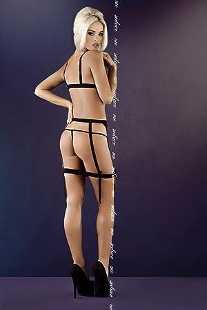 Me Seduce 2 x -Large/3 x -Large negro Vilma lencería: Amazon.es: Salud y cuidado personal