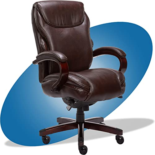 La-Z-Boy Hyland Executive Bonded Leather Office Chair