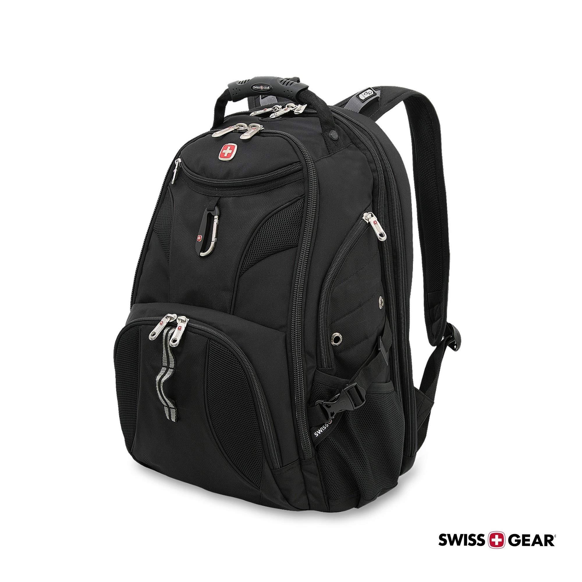 SwissGear 1900 Scansmart TSA Laptop Backpack - Black by Swiss Gear