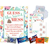 Dirty Diaper Game Baby Shower Guess This Sweet Mess Diaper Candy Poop Games For Boys and Girls Shower, Coed Gender…