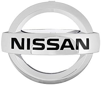 nissan logo. genuine nissan 62890ja000 radiator emblem logo