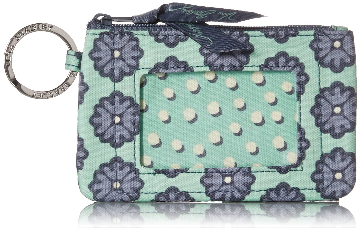 Vera Bradley womens Zip Id Case, Nomadic Blossoms, One size