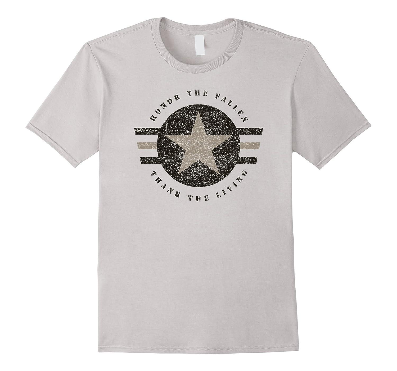 Veteran Shirt Honor the Fallen Thank the Living Memorial Day – Bgtee.com de425c951