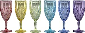Brookside Pastel Iced Beverage, Set of 6
