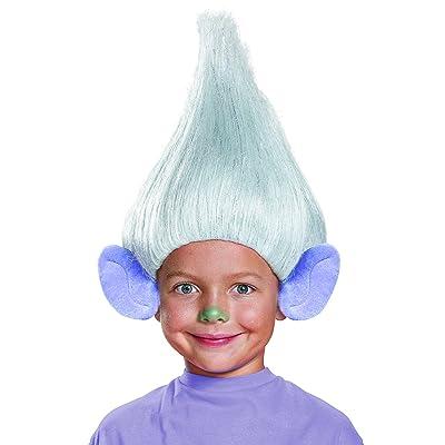 Guy Diamond Child Trolls Wig, One Size: Toys & Games