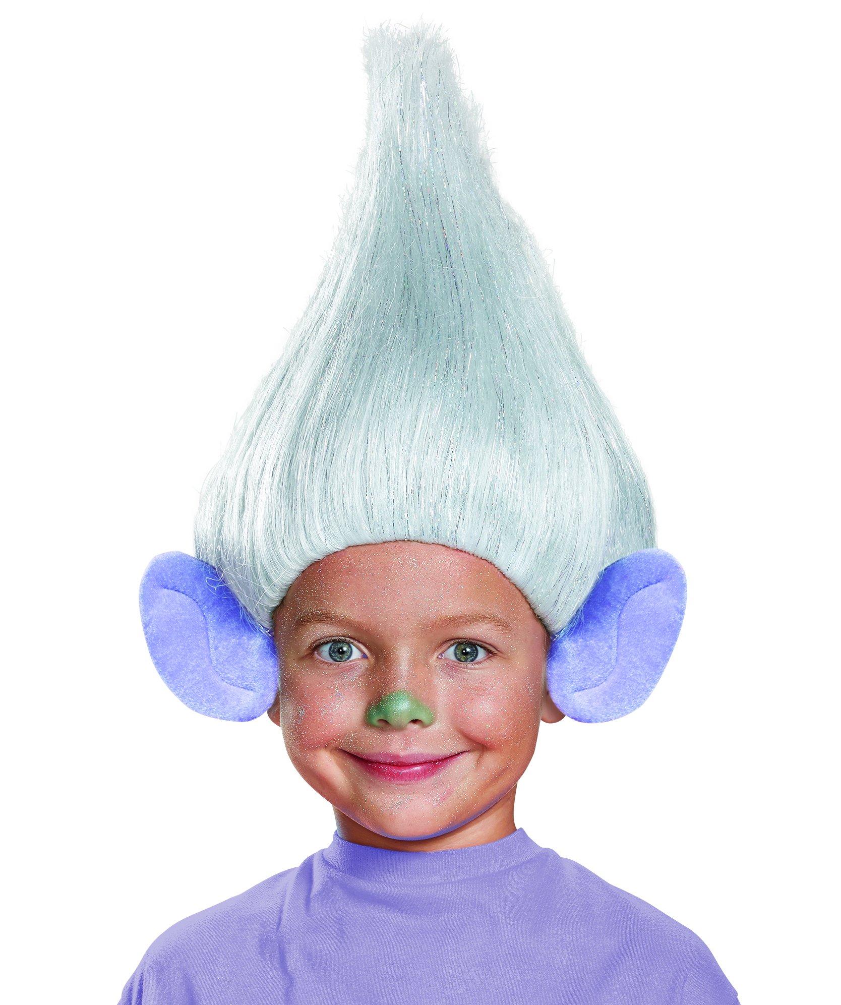 Guy Diamond Child Trolls Wig, One Size