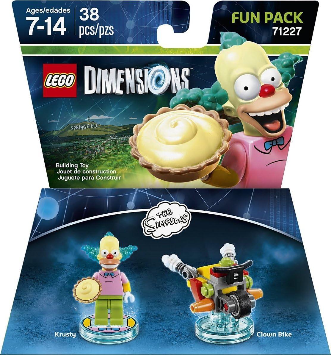 LEGO Dimensions, Simpsons Krusty Fun Pack by Warner Home Video - Games:  Amazon.es: Juguetes y juegos