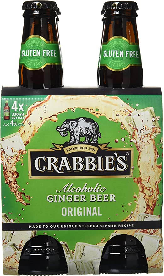 Download Crabbies Ginger Beer Gluten Free Contains Wheat Background