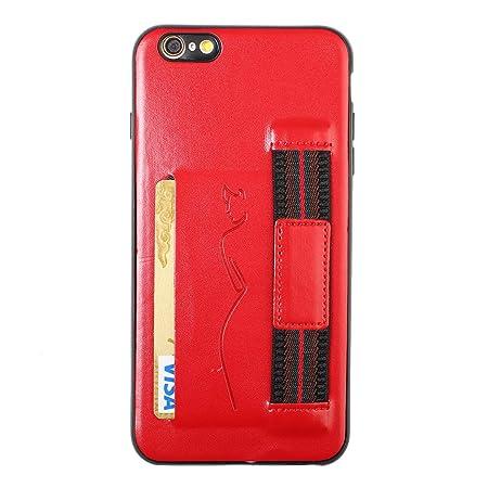 Hirkase iPhone 6 Plus,Titular Tarjeta del teléfono móvil ...
