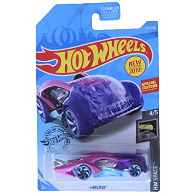 Hot Wheels HW Space 4/5 I Believe 141/250, Purple/Pink: Toys & Games