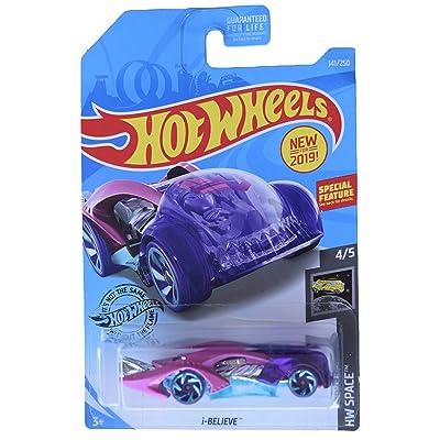 Hot Wheels HW Space 4/5 I Believe 141/250, Purple/Pink: Toys & Games