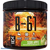 B-61 Pre Workout Powder - Gym Energy - Muscle Pumps & Extreme Focus - Weight Loss - Energy Drink For Men & Women, with Beta-Alanine, L-Citrulline & Vitamin B3 - 30 Servings