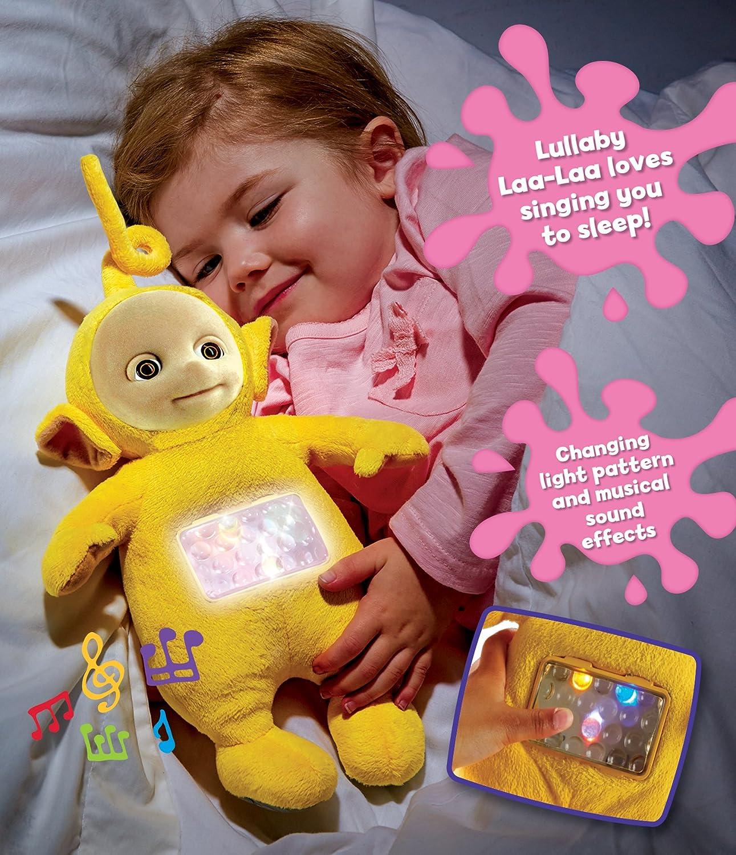 Teletubbies Lullaby Laa Laa Soft Toy Yellow Amazon Toys