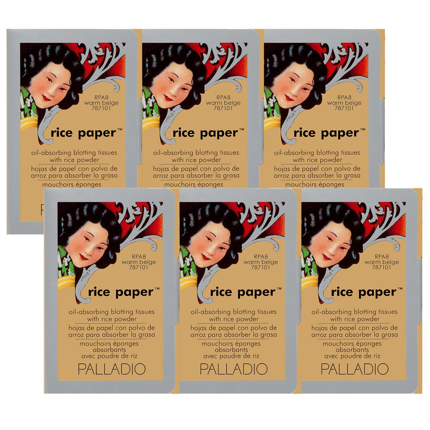 Amazon.com : Pack of 3 Palladio Rice Paper RPA8 Warm Beige