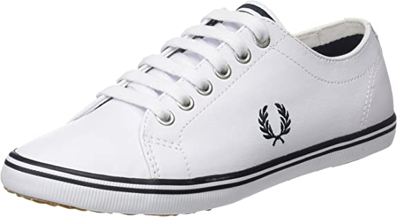 TALLA 39 EU. Fred Perry Kingston Leather, Zapatos de Cordones Oxford para Hombre